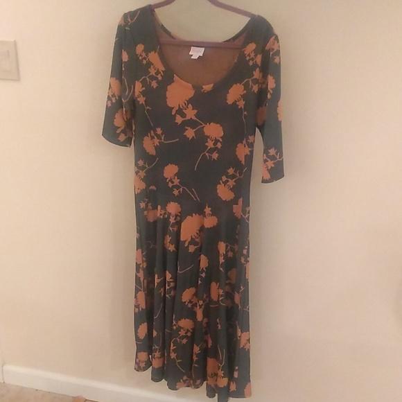 LuLaRoe Dresses & Skirts - Like-new Plus-size 2XL Lularoe Nicole dress